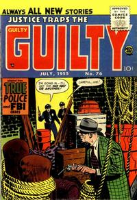 Cover Thumbnail for Justice Traps the Guilty (Prize, 1947 series) #v8#10 (76)