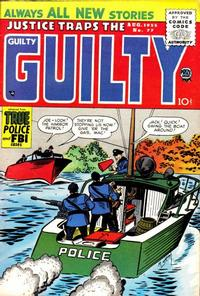 Cover Thumbnail for Justice Traps the Guilty (Prize, 1947 series) #v8#11 (77)