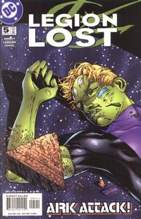Cover Thumbnail for Legion Lost (DC, 2000 series) #5