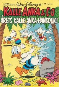Cover Thumbnail for Kalle Anka & C:o (Hemmets Journal, 1957 series) #14/1988