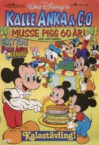 Cover Thumbnail for Kalle Anka & C:o (Hemmets Journal, 1957 series) #46/1988