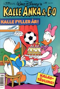 Cover Thumbnail for Kalle Anka & C:o (Hemmets Journal, 1957 series) #23/1991