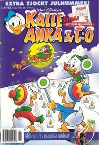 Cover Thumbnail for Kalle Anka & C:o (Egmont, 1997 series) #51-52/1999