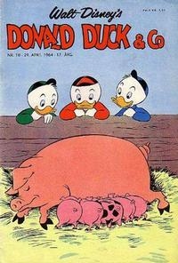 Cover Thumbnail for Donald Duck & Co (Hjemmet / Egmont, 1948 series) #18/1964
