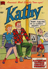 Cover Thumbnail for Kathy (Pines, 1949 series) #3