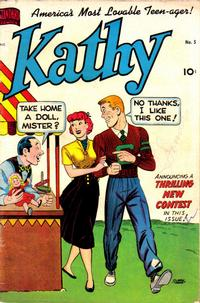 Cover Thumbnail for Kathy (Pines, 1949 series) #5