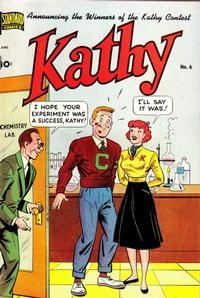 Cover Thumbnail for Kathy (Pines, 1949 series) #6