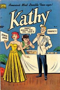 Cover Thumbnail for Kathy (Pines, 1949 series) #8