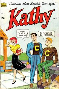Cover Thumbnail for Kathy (Pines, 1949 series) #9