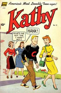 Cover Thumbnail for Kathy (Pines, 1949 series) #12