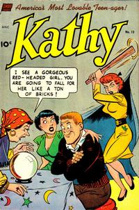 Cover Thumbnail for Kathy (Pines, 1949 series) #13