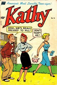 Cover Thumbnail for Kathy (Pines, 1949 series) #16