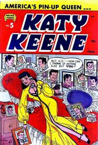 Cover Thumbnail for Katy Keene (Archie, 1949 series) #5