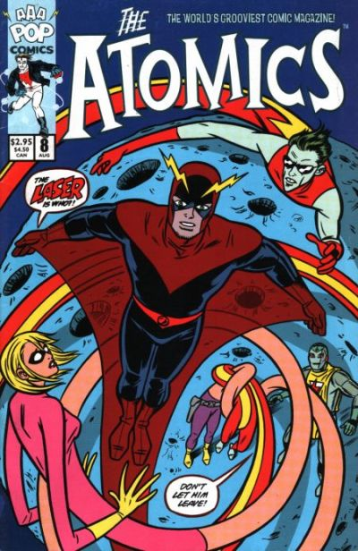 Cover for The Atomics (AAA Pop, 2000 series) #8