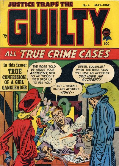 Cover for Justice Traps the Guilty (Prize, 1947 series) #v1#4 (4)