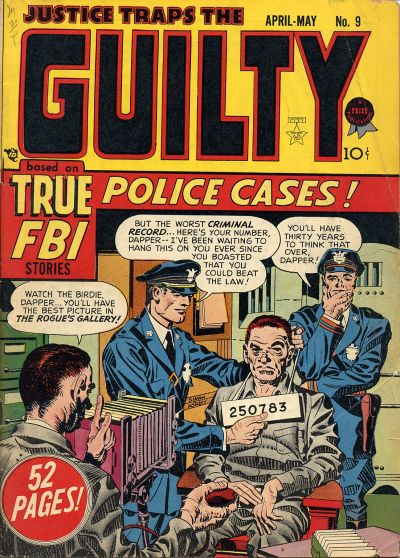 Cover for Justice Traps the Guilty (Prize, 1947 series) #v2#3 (9)