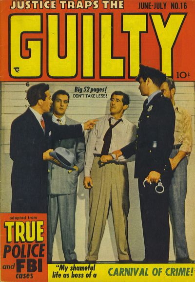 Cover for Justice Traps the Guilty (Prize, 1947 series) #v3#4 (16)