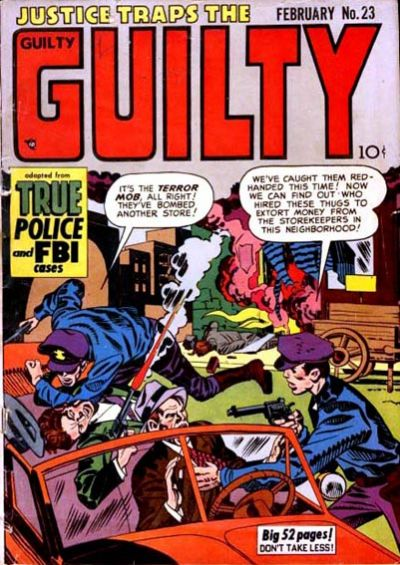 Cover for Justice Traps the Guilty (Prize, 1947 series) #v4#5 (23)