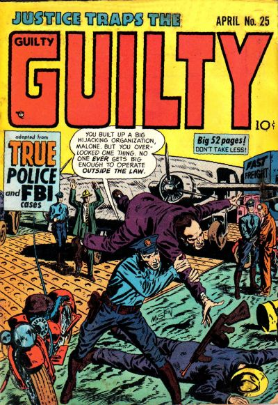 Cover for Justice Traps the Guilty (Prize, 1947 series) #v4#7 (25)