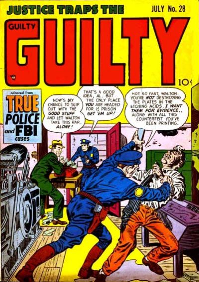 Cover for Justice Traps the Guilty (Prize, 1947 series) #v4#10 (28)