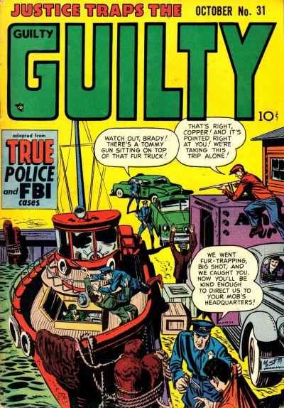 Cover for Justice Traps the Guilty (Prize, 1947 series) #v5#1 (31)