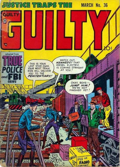 Cover for Justice Traps the Guilty (Prize, 1947 series) #v5#6 (36)