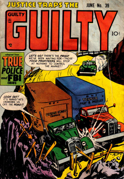 Cover for Justice Traps the Guilty (Prize, 1947 series) #v5#9 (39)