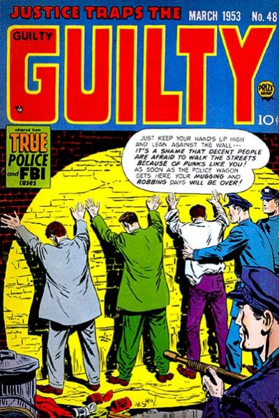 Cover for Justice Traps the Guilty (Prize, 1947 series) #v6#6 (48)