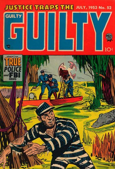 Cover for Justice Traps the Guilty (Prize, 1947 series) #v6#10 (52)