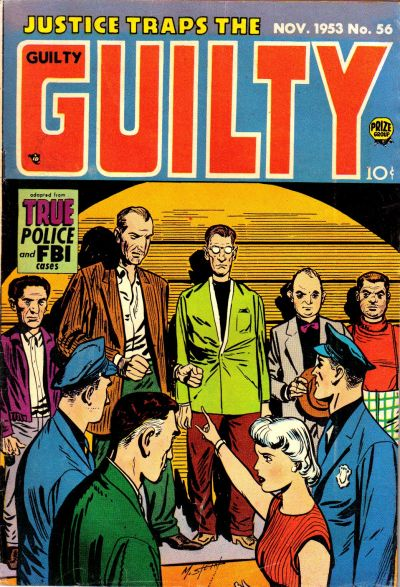 Cover for Justice Traps the Guilty (Prize, 1947 series) #v7#2 (56)