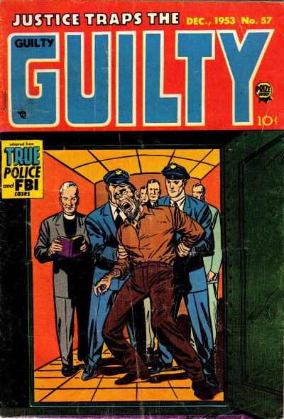 Cover for Justice Traps the Guilty (Prize, 1947 series) #v7#3 (57)