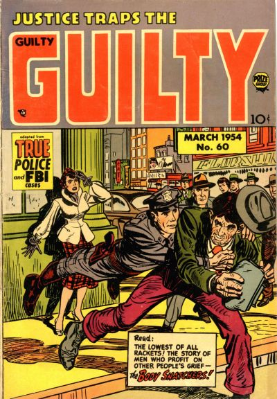 Cover for Justice Traps the Guilty (Prize, 1947 series) #v7#5 (60)