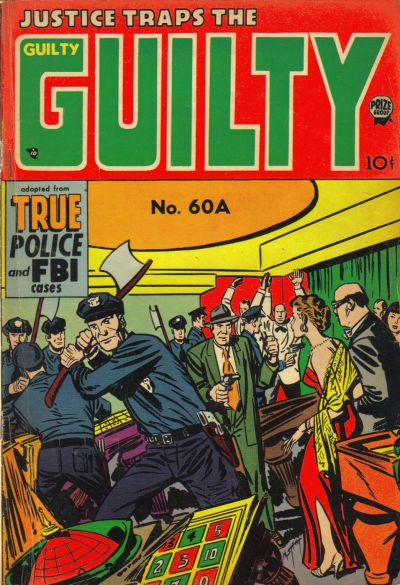 Cover for Justice Traps the Guilty (Prize, 1947 series) #v7#6 (60A)