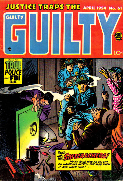 Cover for Justice Traps the Guilty (Prize, 1947 series) #v7#7 (61)