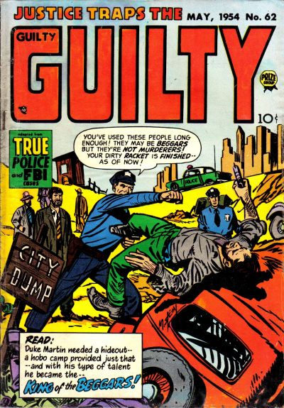 Cover for Justice Traps the Guilty (Prize, 1947 series) #v7#8 (62)