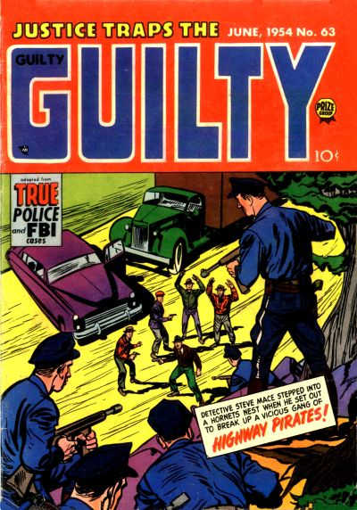 Cover for Justice Traps the Guilty (Prize, 1947 series) #v7#9 (63)