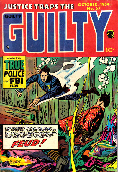Cover for Justice Traps the Guilty (Prize, 1947 series) #v8#1 (67)