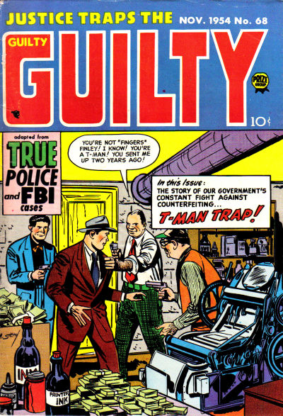 Cover for Justice Traps the Guilty (Prize, 1947 series) #v8#2 (68)