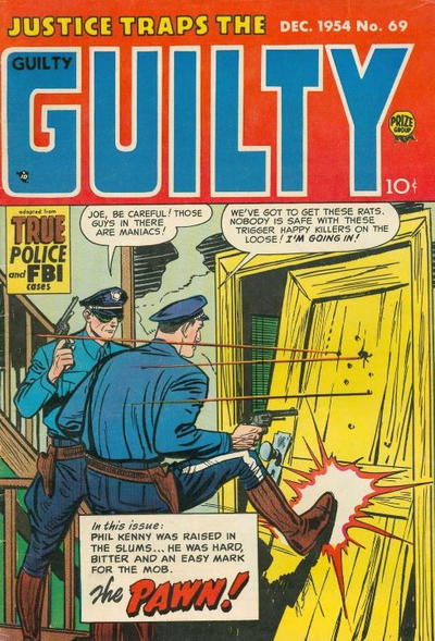 Cover for Justice Traps the Guilty (Prize, 1947 series) #v8#3 (69)