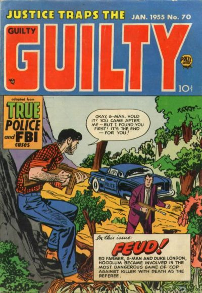 Cover for Justice Traps the Guilty (Prize, 1947 series) #v8#4 (70)