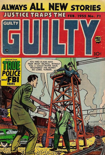 Cover for Justice Traps the Guilty (Prize, 1947 series) #v8#5 (71)