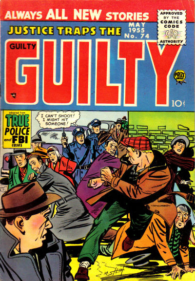 Cover for Justice Traps the Guilty (Prize, 1947 series) #v8#8 (74)