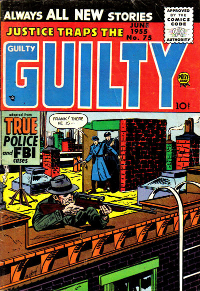 Cover for Justice Traps the Guilty (Prize, 1947 series) #v8#9 (75)
