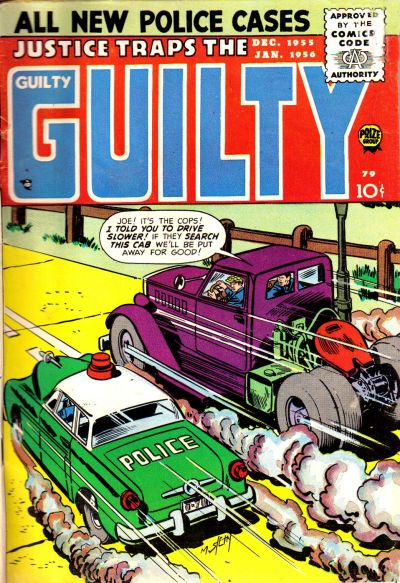 Cover for Justice Traps the Guilty (Prize, 1947 series) #v9#1 (79)