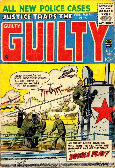 Cover for Justice Traps the Guilty (Prize, 1947 series) #v9#2 (80)