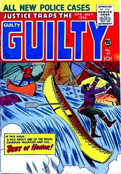 Cover for Justice Traps the Guilty (Prize, 1947 series) #v9#3 (81)