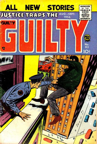 Cover for Justice Traps the Guilty (Prize, 1947 series) #v9#4 (82)