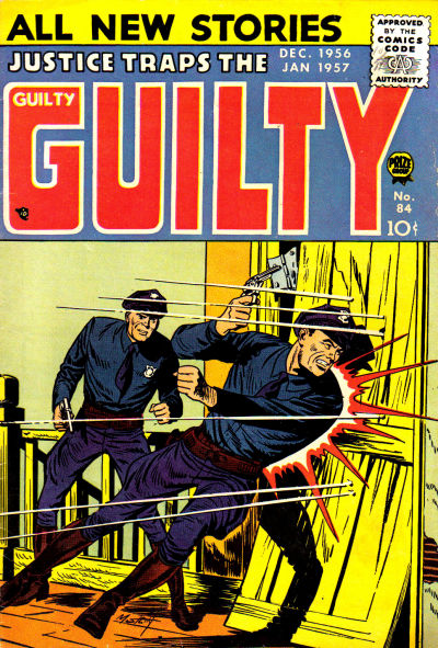 Cover for Justice Traps the Guilty (Prize, 1947 series) #v9#6 (84)