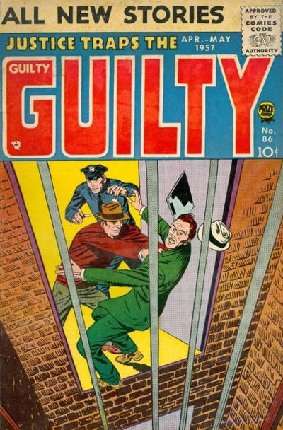 Cover for Justice Traps the Guilty (Prize, 1947 series) #v10#2 (86)