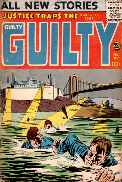 Cover for Justice Traps the Guilty (Prize, 1947 series) #v10#3 (87)